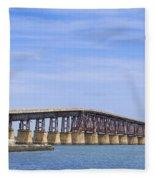 Camelback Bridge Fleece Blanket