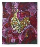 Camellia Rain Fleece Blanket