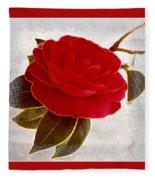 Camellia Spectacular Fleece Blanket