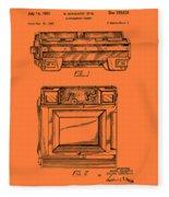Camera Patent 1953 Fleece Blanket