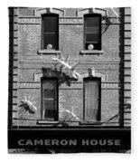 Cameron House 2b Fleece Blanket