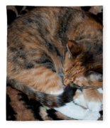 Camouflaged Fleece Blanket