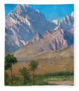 Camp Independence Colorado Fleece Blanket