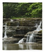Campbell Falls 5 Fleece Blanket