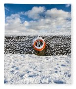 Can You Drown In Snow? Fleece Blanket