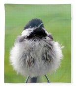 Close Encounters Of The Bird Kind Fleece Blanket