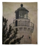Cana Island Light Fleece Blanket