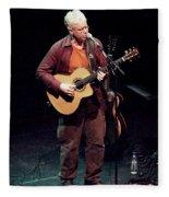 Canadian Folk Rocker Bruce Cockburn In 2002 Fleece Blanket