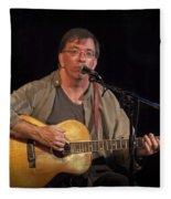 Canadian Folk Singer James Keeglahan Fleece Blanket