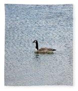 Canadian Goose 2 Fleece Blanket