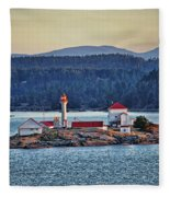 Canadian Lighthouses Sc3415-13 Fleece Blanket