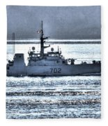 Canadian Navy Nanaimo M M702 Fleece Blanket