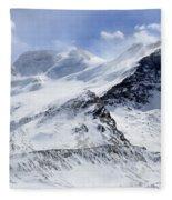 Canadian Rockies 2 Fleece Blanket