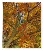 Canadian Tree 2012 Fleece Blanket