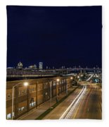 Canal Fleece Blanket