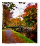 Canal Dream Fleece Blanket