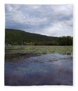 Canandaigua Lake Panorama Fleece Blanket