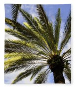 Canary Island Date Palm Fleece Blanket