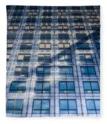 Canary Wharf Tower Fleece Blanket
