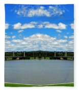 Canberra 9 Fleece Blanket