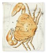 Cancer Constellation - 1825 Fleece Blanket