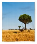 Candelabra Trees Fleece Blanket