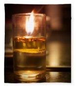 Candle Light Fleece Blanket