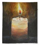 Candle Fleece Blanket