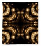 Candles Abstract 1 Fleece Blanket