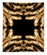 Candles Abstract 3 Fleece Blanket