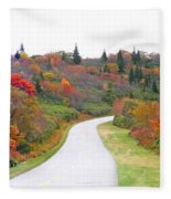 Candy Land On The Blueridge Parkway Fleece Blanket