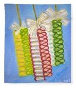 Candy Ribbon  Fleece Blanket