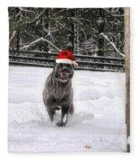 Cane Corso Christmas Fleece Blanket