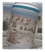 Canned Castles Fleece Blanket