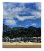 Cannon Beach South Fleece Blanket