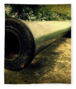 Elephanta Island Cannon Fleece Blanket