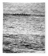 Canoe Glitter Fleece Blanket