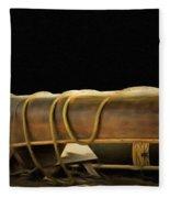Canoe Fleece Blanket