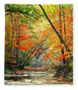 Canopy Of Color II Fleece Blanket