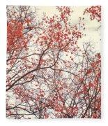 canopy trees II Fleece Blanket