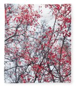 Canopy Trees Fleece Blanket