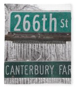 Canterbury Ice Fleece Blanket