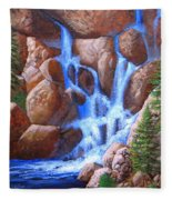 Canyon Cascade Fleece Blanket