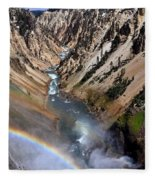 Canyon Rainbow Fleece Blanket