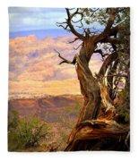 Canyon Vista 1 Fleece Blanket