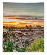 Canyonlands National Park Fleece Blanket