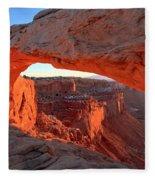 Canyonlands Spectacular Fleece Blanket