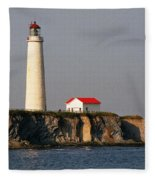 Cap Des Rosiers - Quebec Fleece Blanket