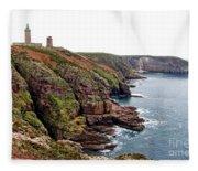 Cap Frehel In Brittany France Fleece Blanket