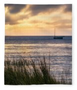 Cape Cod Bay Square Fleece Blanket